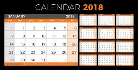 Hijri 1440 calendar 2018-2019 design template  muharram is