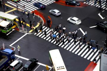 渋谷 東口 交差点