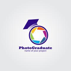 Photo graduate logo