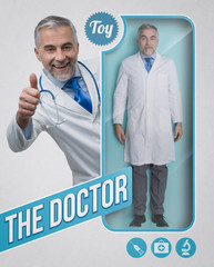 The doctor lifelike doll