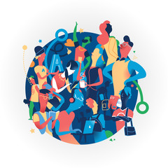 Community, Gruppi, Social Network