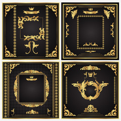 Set of golden vector frames