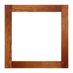 quadratischer Holzrahmen