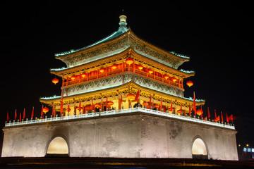 Xian Bell tower Fototapete