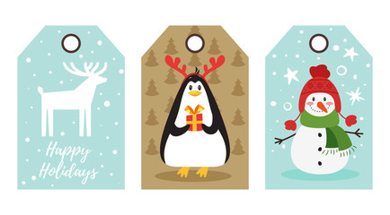 Christmas and New Year tags
