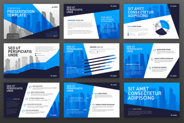 Business presentation templates.