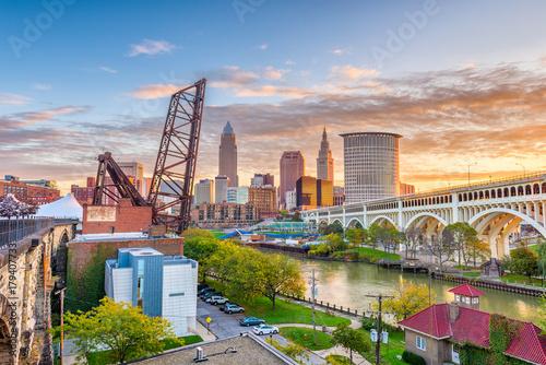 Fototapete Cleveland, Ohio, USA