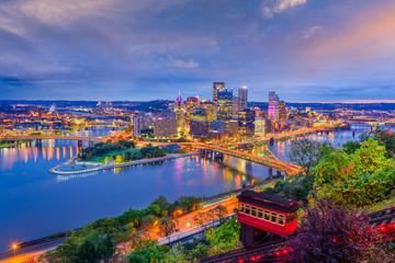 Fototapete - Pittsburgh, Pennsylvania, USA