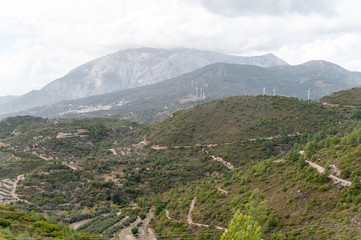 Landschaft auf Samos