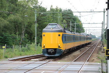 Intercity train in the Netherlands