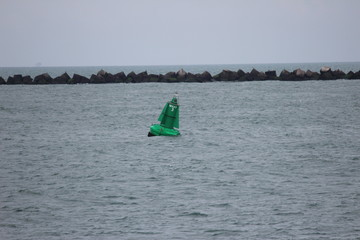 Green Buoy at the Maasvlakte, Rotterdam