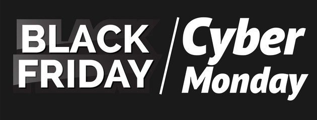 Black friday. Vector illustration. For flyers, invitation, posters, brochure, banners.