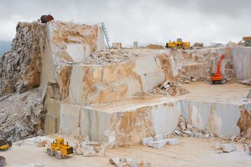 Carrara marble quarry, Italy