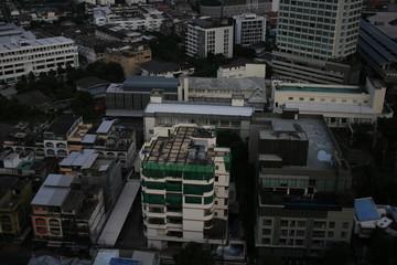 Building city, business image