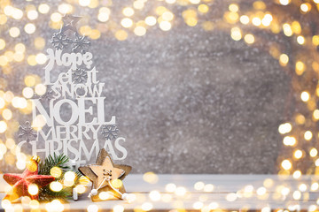 Christmas branches. Christmas greeting card. Symbol xmas.