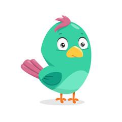 Cartoon vector bird
