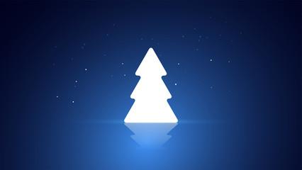 albero di natale, cartolina di natale, albero, natale