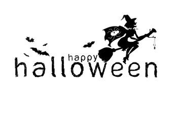 Happy Halloween Text Banner,