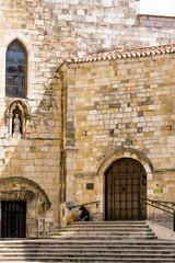 Fachada catedral de Santander