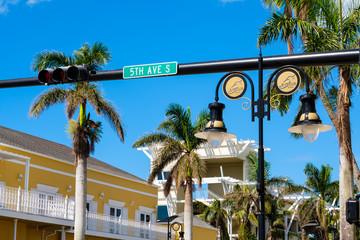 Foto op Textielframe Napels Naples Florida cityscape