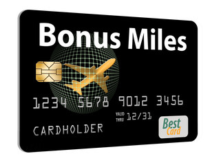 Air miles, air rewards credit card.