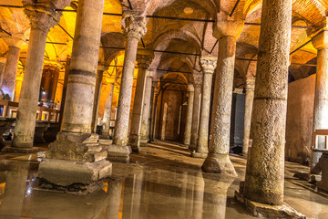 Wall Mural - The Basilica Cistern in Istanbul