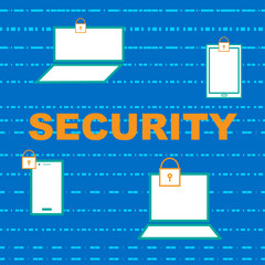 computer device Security technology Background / wallpaper