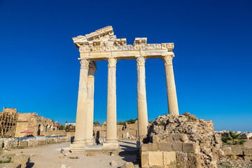 Temple of Apollo in Side, Turkey