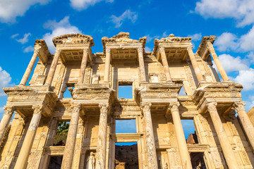 Celsius Library in Ephesus, Turkey