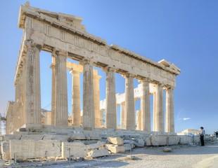 The Parthenon, Acropolis of Athens.