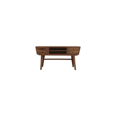 Realistic Commode Element. Vector Illustration Of Realistic Console Isolated On Clean Background. Can Be Used As Console, Commode And Furniture Symbols.