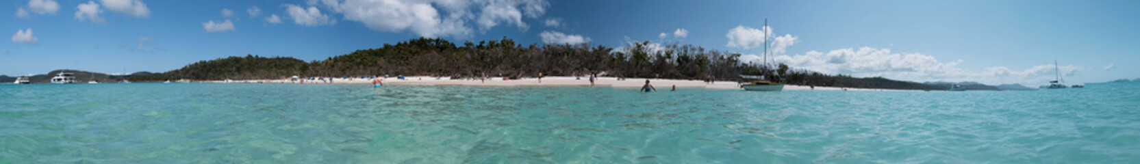 Whitehaven Beach, Whitsunday - PANORAMA