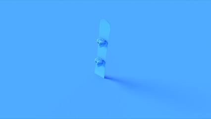 Blue snowboard