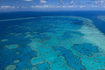 Luftbild Great Barrier Reef