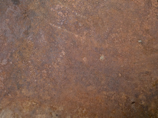 The surface of the sheet steel rusty Wall mural