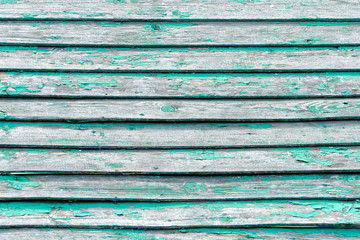 Green vintage board. Horizontally arranged. Texture. Background