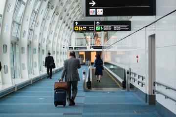空港の廊下