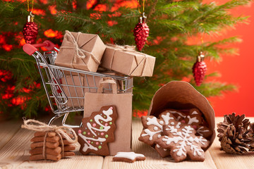 Christmas and New Year shopping.