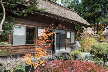 茶室と日本庭園 / 日本の伝統的な風景