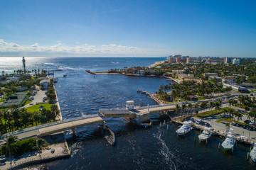 Aerial image Hillsboro Inlet Bridge FLorida