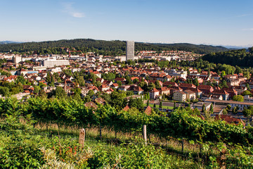 Cityscape of Winterthur (Switzerland)