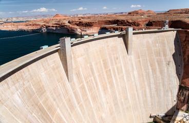 Aluminium Prints Dam The Controversial Glen Canyon Dam
