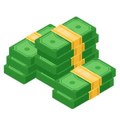 Big pile of cash money