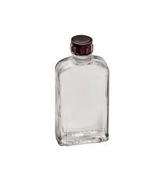 Bottle for perfume on a white background