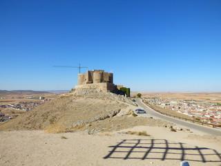 El castillo de la Muela de Consuegra (Toledo)  es uno de los mejor conservados de toda Castilla La Mancha, España