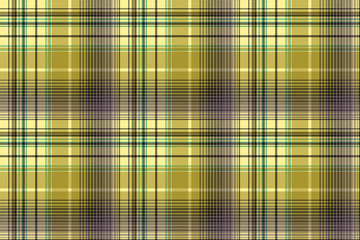 Green abstract check plaid seamless pattern