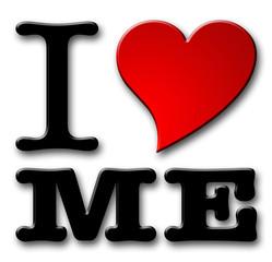 I Love me Symbol