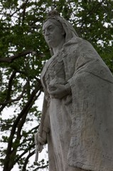 Queen Victoria statue Dunedin