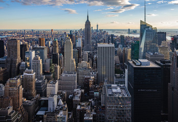 Skyline from the Top of the Rock, NYC, USA