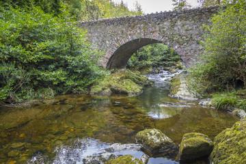 Parnells Bridge am Shimna River, Nordirland
